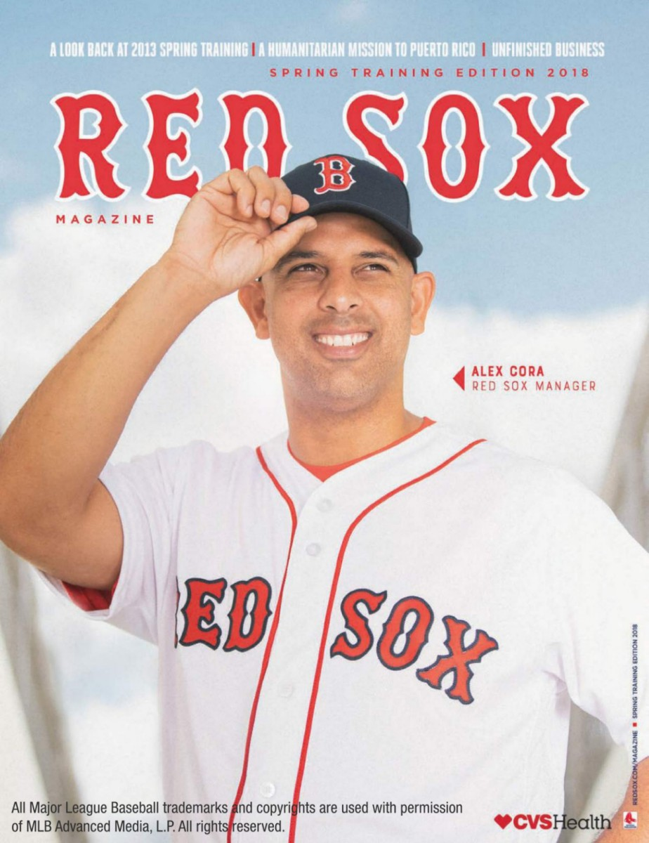 Red Sox Magazine Spring 2018 Free Preview Boston Red Sox