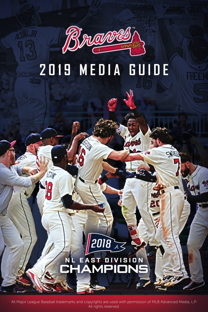 picture regarding Atlanta Braves Tv Schedule Printable referred to as 2019 Media Specialist Atlanta Braves